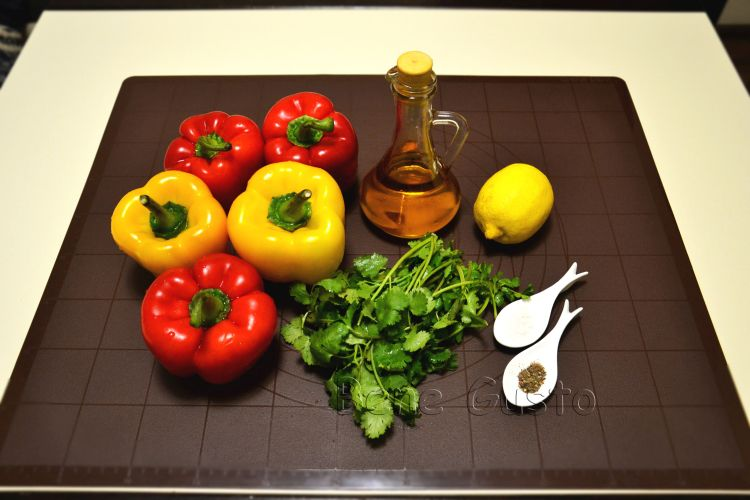 Салат, перец