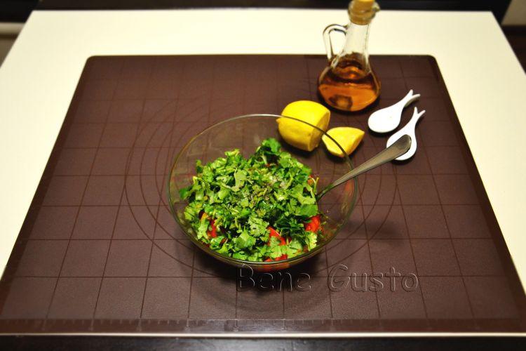 салат с перцем