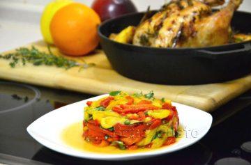 Рецепт, салат, болгарский перец