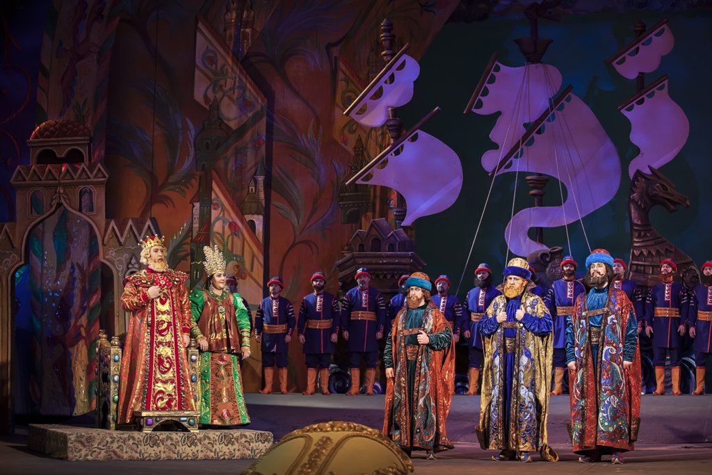 знаем только картинки на оперу о царе салтане прозрачными прожилками или