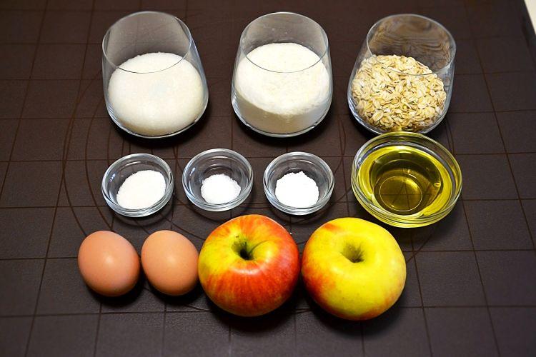 яблочные кексы, рецепт, рецепт дня