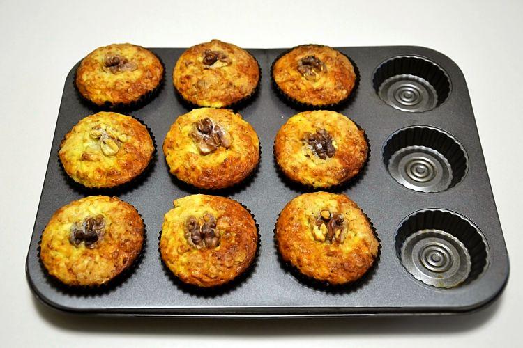 рецепт дня, кексы, яблочные кексы