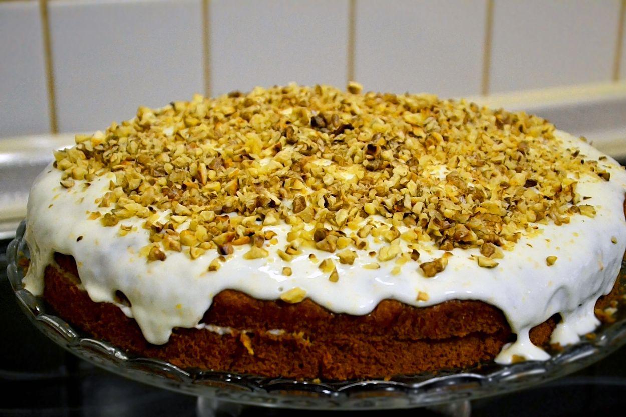 Рецепт дня — английский морковный пирог