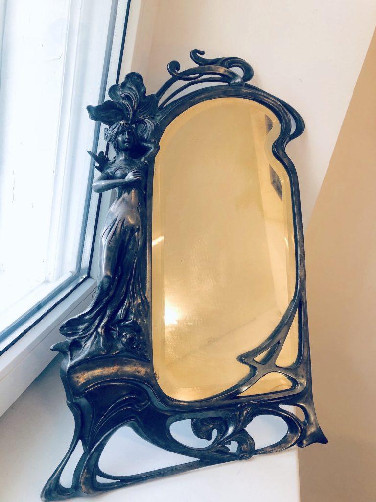 старинное зеркало, модерн, франция