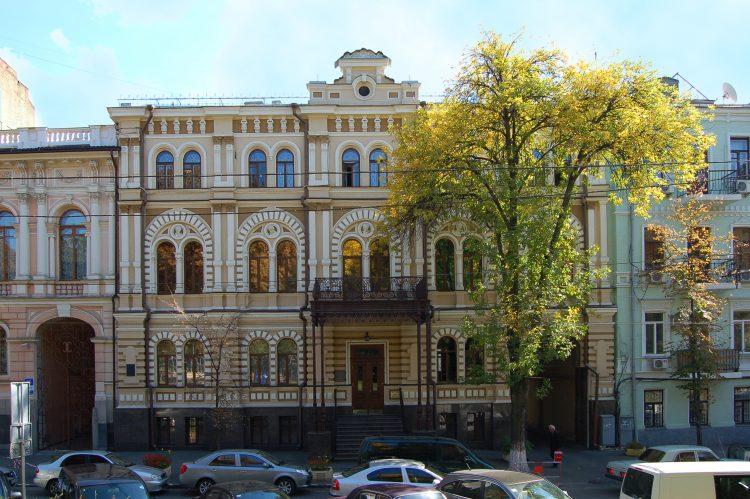 Киев, Терещенковская 17, первый телефон