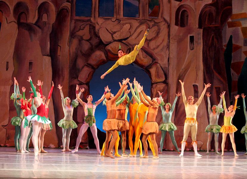 Национальная опера в феврале, Чиполлино