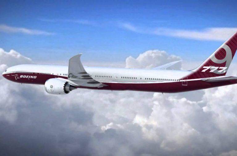 Boeing 777X, полет, авиация