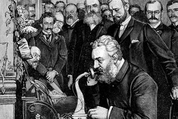 Александр Белл, изобретатель телефона, История уличных телефонов, телефон