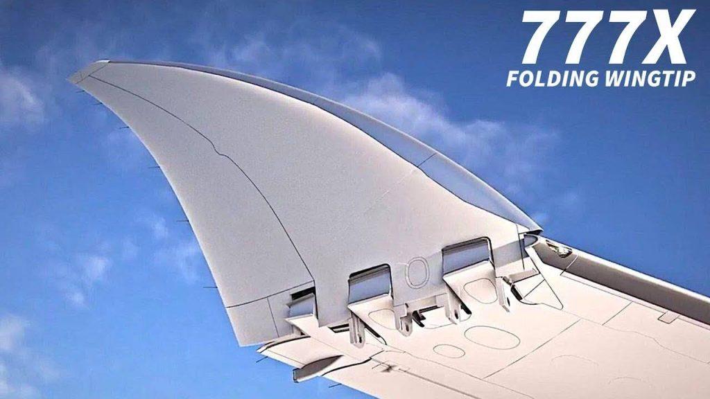складное крыло Boeing