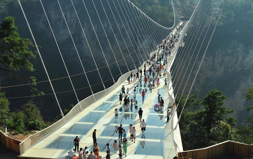 Мост, Чжанцзяцзе Гранд-Каньон