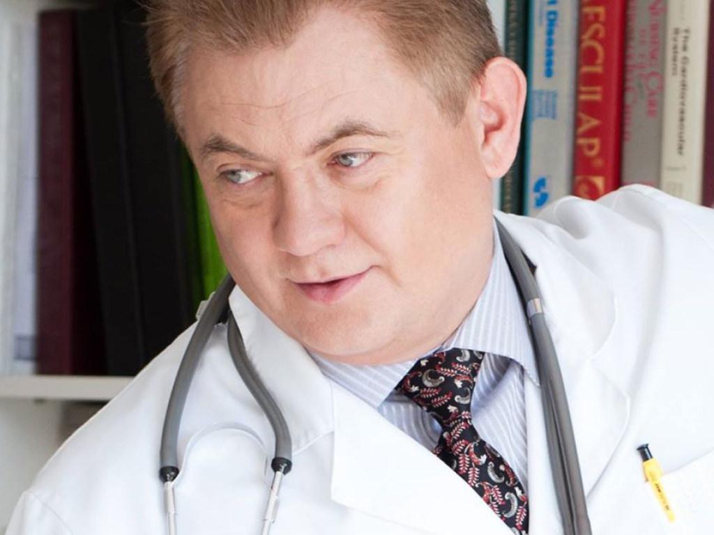 доктор медицинских наук, профессор, Заслуженный врач Украины Василий ЛАЗОРИШИНЕЦ