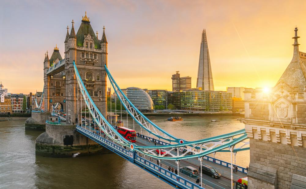 лондон, Лучшие страны для отдыха