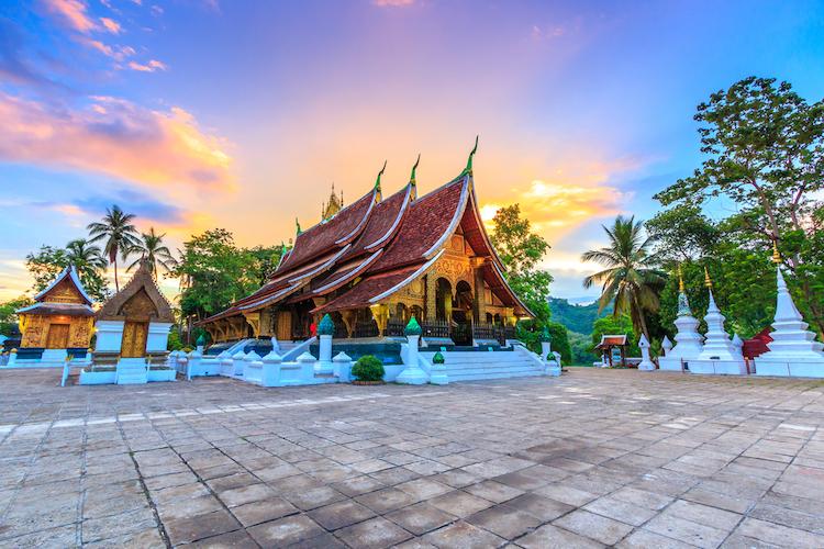 Ват Сиенг Тонг, Лучшие страны для отдыха, Луангпхабанге, Лаос. Храм Сиенг Тонг является одним из самых важных лаосских монастырей