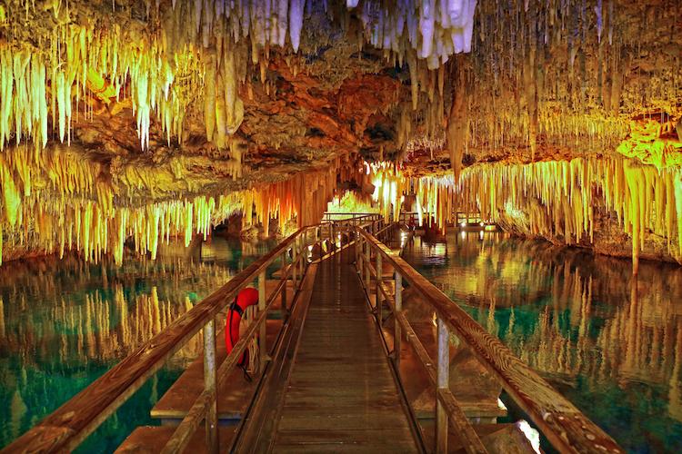 Хрустальная пещера в Бермудские острова, Лучшие страны для отдыха