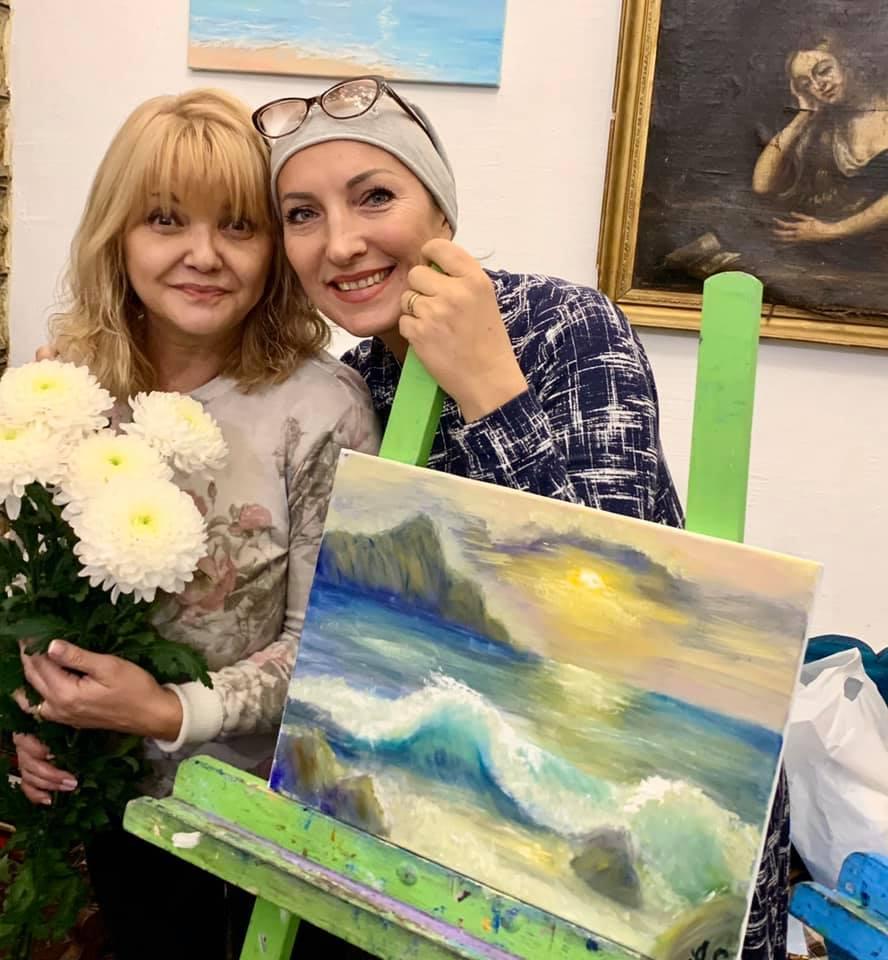 Светлана Леонтьева, Анжелина Швачка