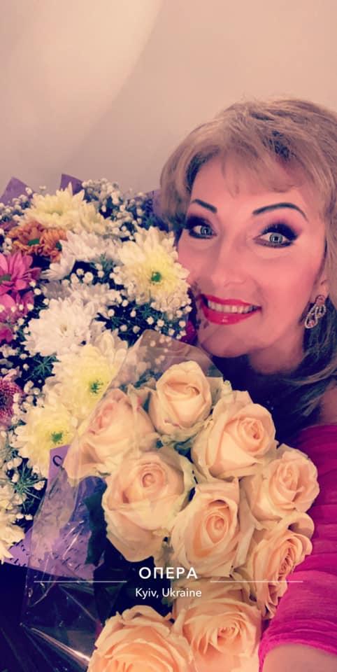 цветы, букеты, театр, певица, опера, Швачка