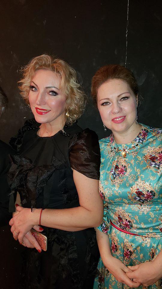 Анжелина Швачка, Оксана Крамарева