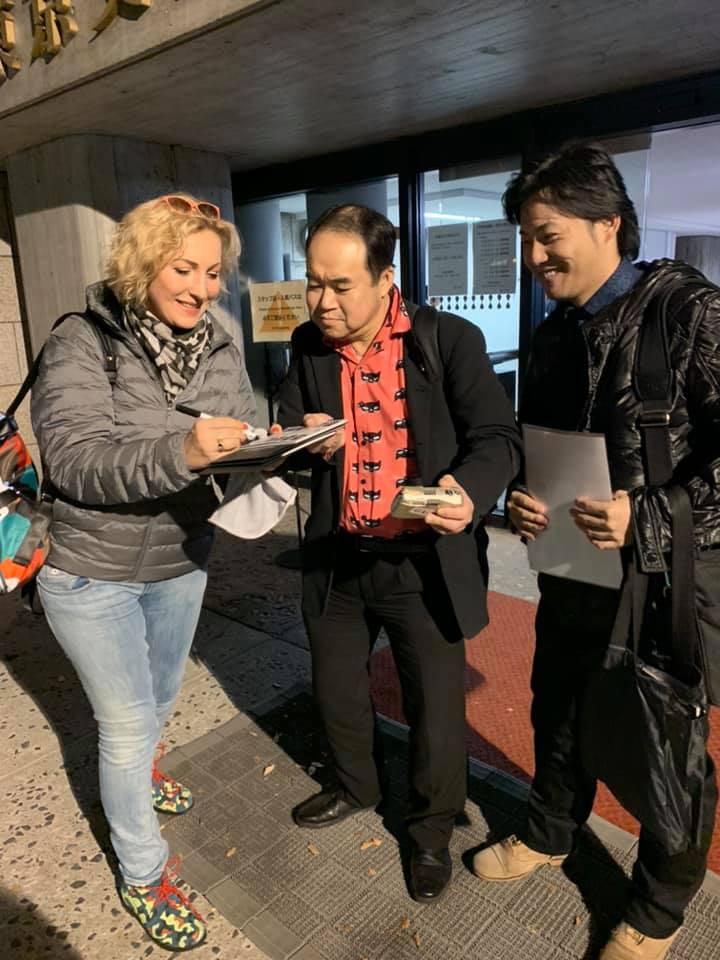 япония, опера, Швачка, поклонники