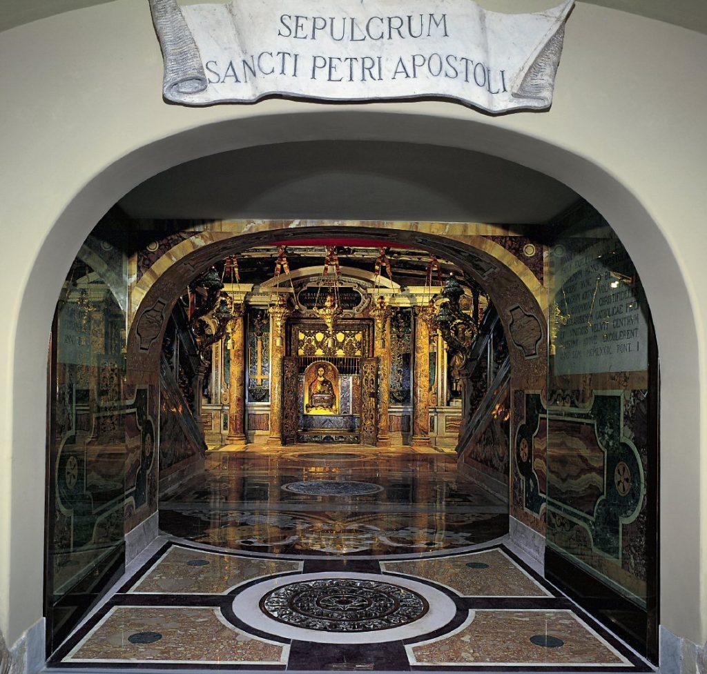 Ватикан, могила святого апостола Петра
