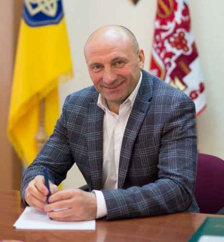 Анатолий БОНДАРЕНКО Черкасский городской голова, мэр