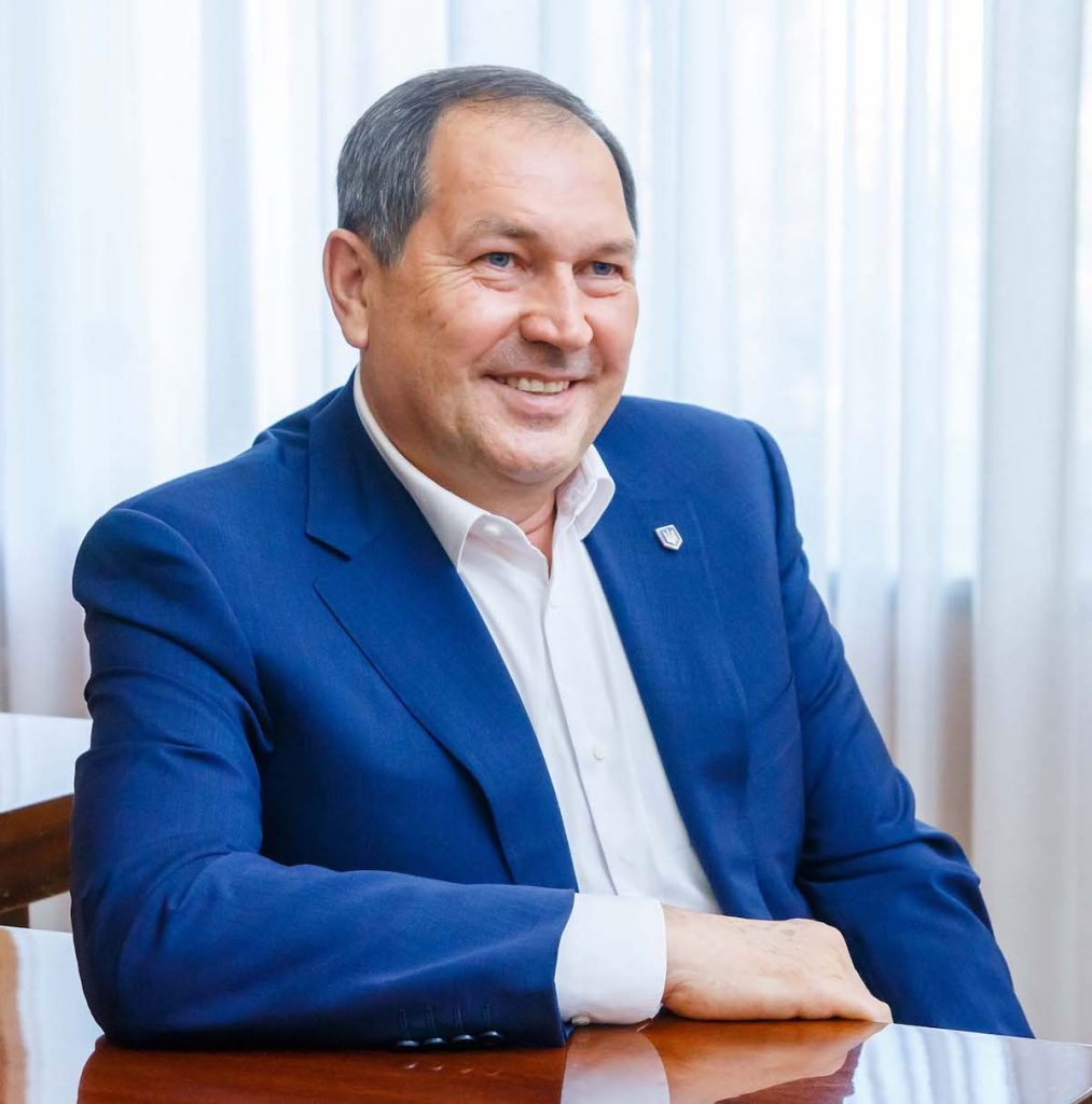 мэр Андрей РАЙКОВИЧ Городской голова Кропивницкого