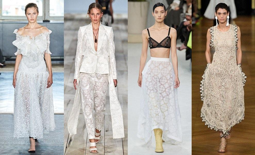 Giambattista Valli, Alexander McQueen, Loewe, Stella McCartney весна-лето 2020