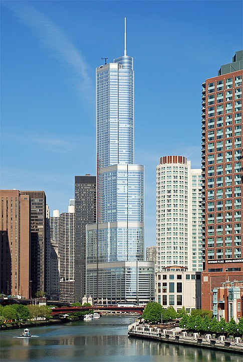 хмарочос, Международная гостиница и башня Трампа (Чикаго)