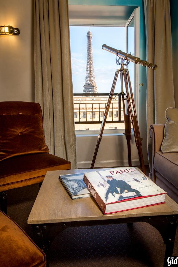 Eiffel Trocadéro, отели Парижа с видом на Эйфелеву башню, Париж