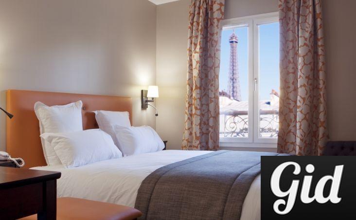 Le Relais Saint Charles, отели Парижа, отели с видом на Эйфелеву башню, Париж, Франция, вид из окна
