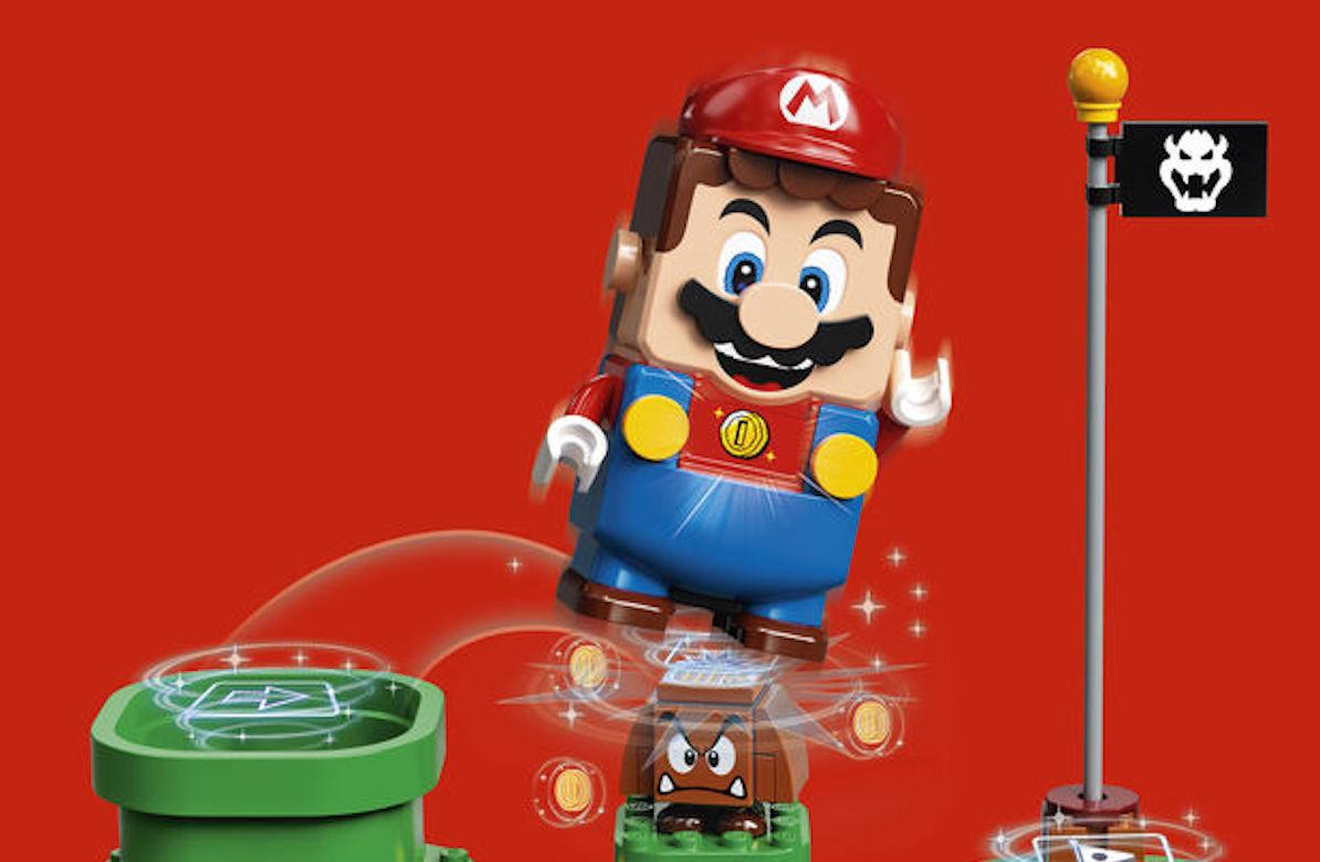 LEGO Group и Nintendoсоздадут серию конструкторов Super Mario