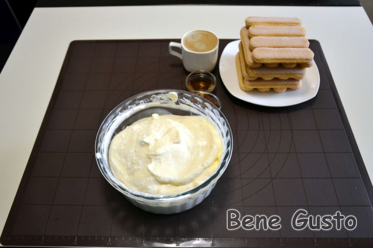 рецепт дня, простой десерт, тирамису