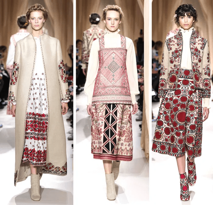 вышиванка, дизайн, неделя моды, показ мод