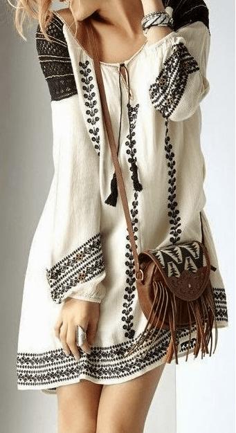 вышиванка, этнические мотивы
