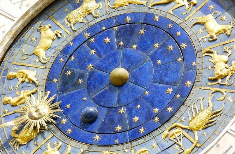гороскоп, прогноз, судьба, Венеция, часы, зодиак