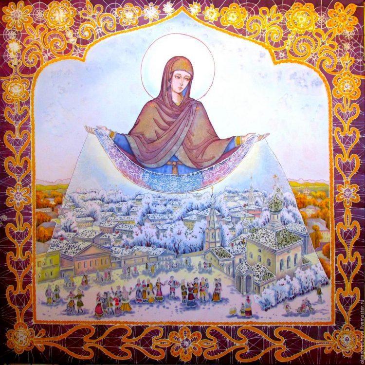 Покров Пресвятой Богородицы, икона, праздник