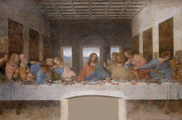 чем питался Иисус Христос, Тайная вечеря, фреска, Леонардо да Винчи