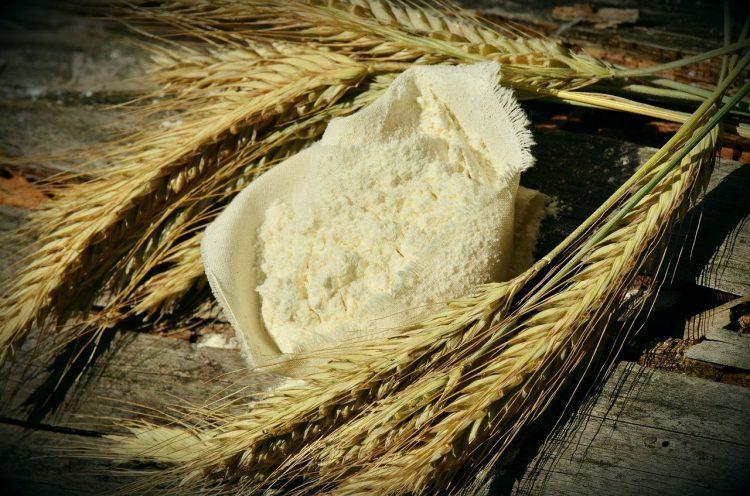 мука, пшеница