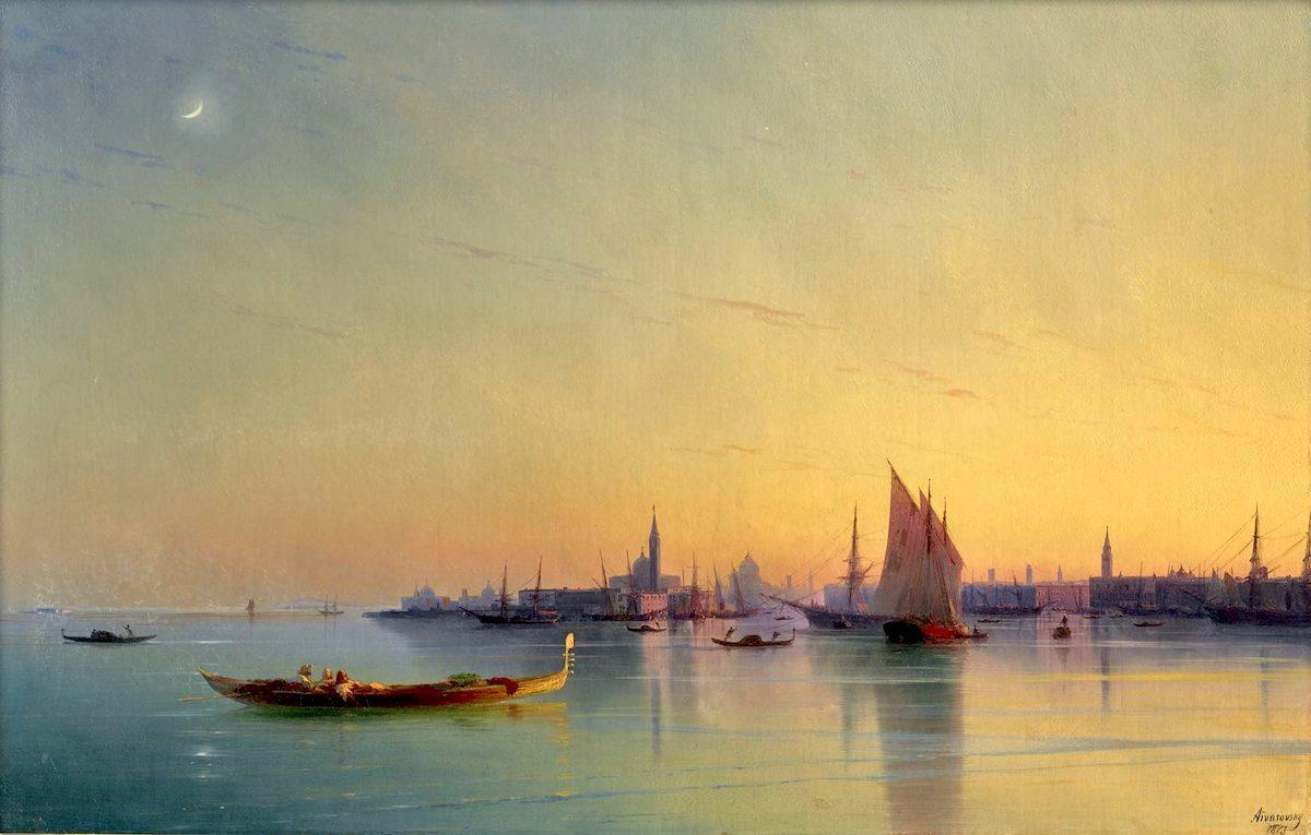 Айвазовский в Венеции – брат-монах, Байрон, Сталин и любовь балерины