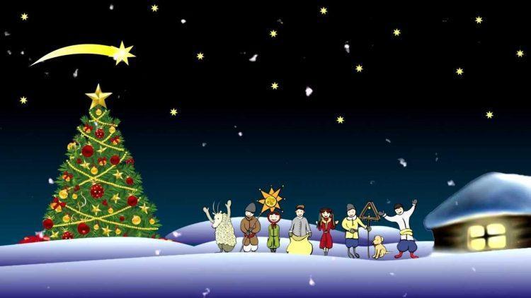 Рождество, открытка, поздравление, радость