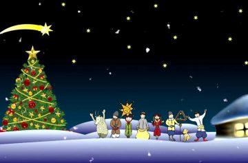 Поздравления с Рождеством – открытки и стихи