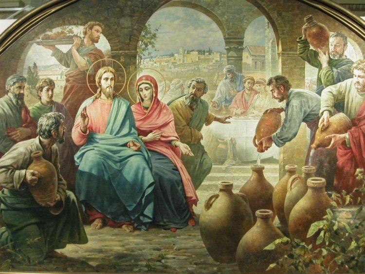 чем питался Иисус Христос, Кана Галилейская, вино, Василий Нестеренко