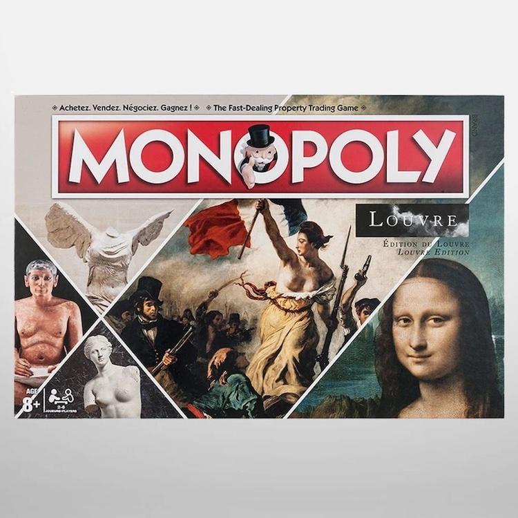 Монополия, игра, искусство