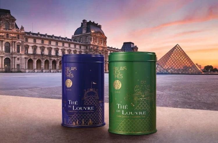 чай, Лувр, реклама
