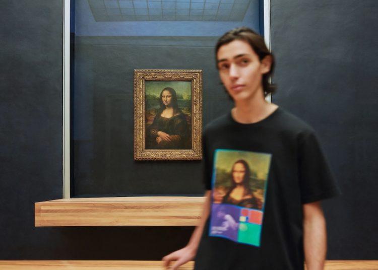 Джоконда, Мона Лиза, футболка, Лувр