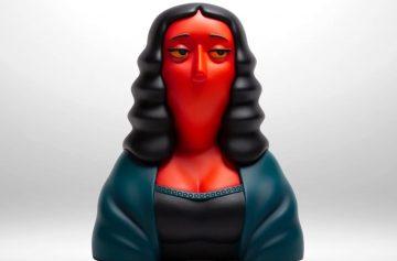 Мона Лиза, красная, Джоконда