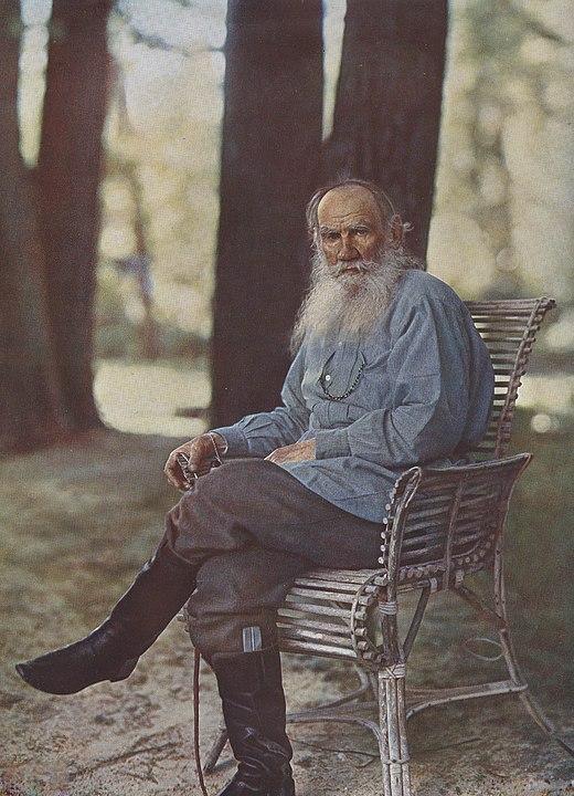 Лев Толстой, Прокудин-Горский, историческое фото