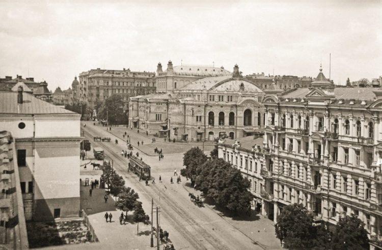 Киев, оперный театр, 1930