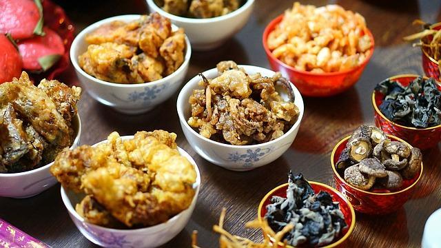 Китайский Новый год, год Быка, еда, пища, блюда Неа Новый год, что готовить