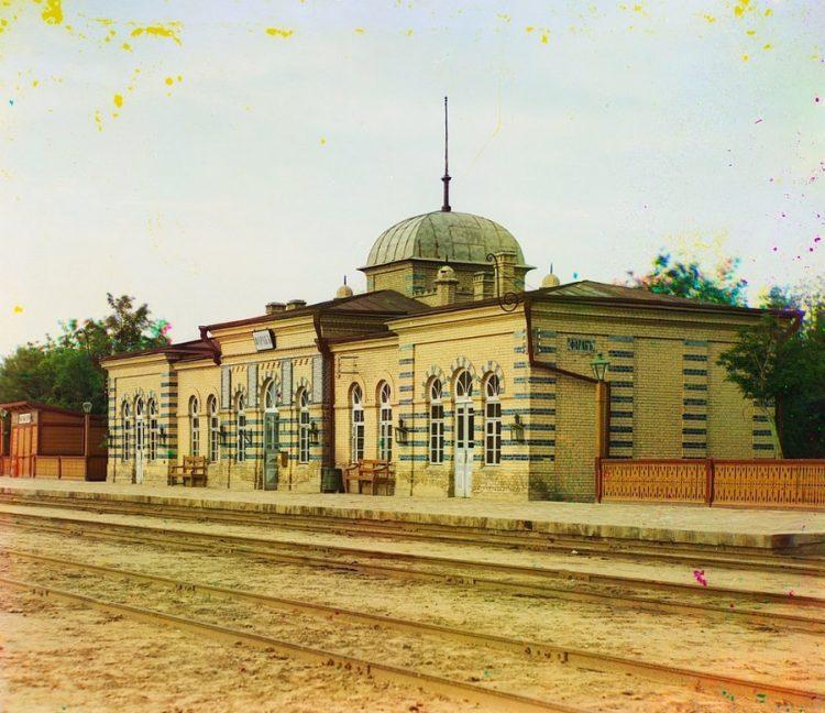 Туркмения, вокзал