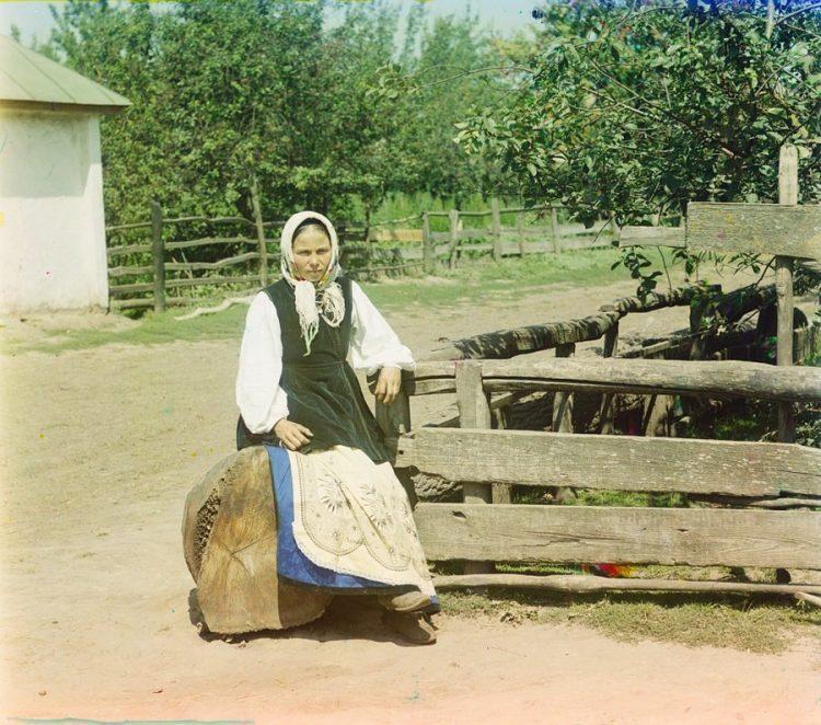 Украина, близ города Путивль, первые цветные фотографии в мире, Прокудин-Горский